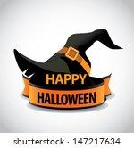 happy halloween icon design... | Shutterstock .eps vector #147217634