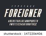 original condensed alphabet ... | Shutterstock .eps vector #1472206406