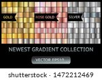 gold silver rose gold metal... | Shutterstock .eps vector #1472212469