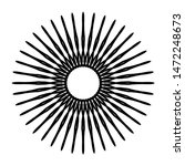 abstract circle pattern mandala ...   Shutterstock . vector #1472248673