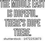 the middle east is hopeful... | Shutterstock .eps vector #1472252873