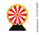 Stock vector roulette wheel of fortune icon vector illustration 1472279699