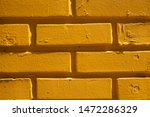 painted yellow brick wall as a... | Shutterstock . vector #1472286329