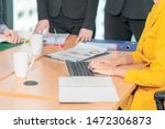 documents and paper on business ... | Shutterstock . vector #1472306873