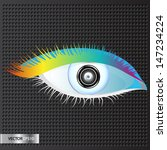 web camera. internet video... | Shutterstock .eps vector #147234224