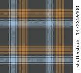 Scottish Tartan Check Plaid...