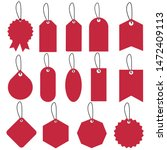 set of sale tags and labels... | Shutterstock .eps vector #1472409113
