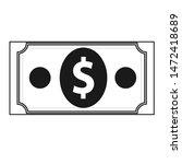 money icon  dollar icon in...
