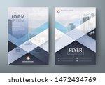 annual report brochure flyer... | Shutterstock .eps vector #1472434769