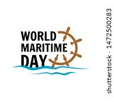 World Maritime Day Water And...