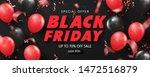 black friday sale background... | Shutterstock .eps vector #1472516879