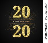 happy new year of glitter gold... | Shutterstock .eps vector #1472523350