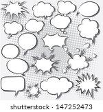 vector illustration of comic...   Shutterstock .eps vector #147252473