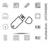 hardware  usb  memory icon....