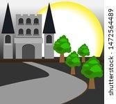 vector buliding mosque and...   Shutterstock .eps vector #1472564489
