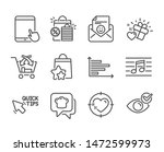set of business icons  such as... | Shutterstock .eps vector #1472599973