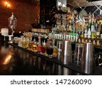 Bitters And Infusions On Bar...