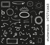 infographic elements on... | Shutterstock .eps vector #1472711663
