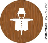 scare crow icon in trendy...   Shutterstock .eps vector #1472712440