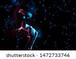 hacker man and mask  anti virus ...