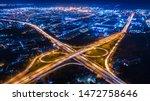 Aerial View Interchange Ring...