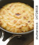 Pomme Anna Cake In A Frying Pan
