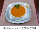 mercimek corbas   lentil soup... | Shutterstock . vector #1472846720