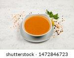 mercimek corbas   lentil soup... | Shutterstock . vector #1472846723