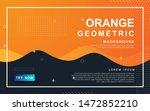 abstract orange background....   Shutterstock .eps vector #1472852210
