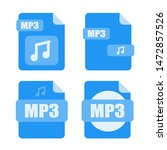 mp3 file icon. mp3 file vector...