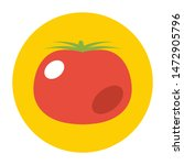 tomato flat icon.you can be...