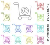 shopping cart  analytic multi...