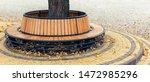 Modern Wooden Circle Shaped...
