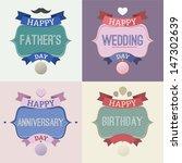 vector greeting card | Shutterstock .eps vector #147302639