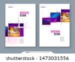 brochure template layout design....   Shutterstock .eps vector #1473031556