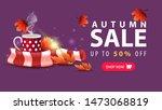 autumn sale  discount purple...