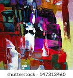 abstract painting | Shutterstock . vector #147313460