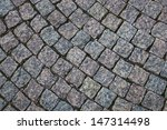 texture of stone paving on the... | Shutterstock . vector #147314498