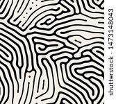 vector seamless pattern. modern ... | Shutterstock .eps vector #1473148043
