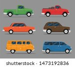 different car vehicle transport ...   Shutterstock .eps vector #1473192836