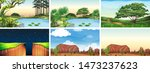 natural environment lanscape... | Shutterstock .eps vector #1473237623