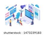 modern isometric popular... | Shutterstock .eps vector #1473239183