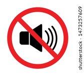 No Speaker  No Sound Icon Sign...