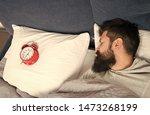 Man Bearded Hipster Sleepy Face ...