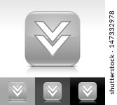 download arrow icon. gray color ...