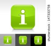 information icon. green color...
