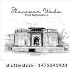 dilli darwaza. the shaniwarwada ... | Shutterstock .eps vector #1473341423