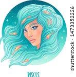 illustration of pisces... | Shutterstock .eps vector #1473352226
