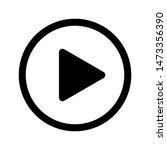 play vector icon simple icon...   Shutterstock .eps vector #1473356390