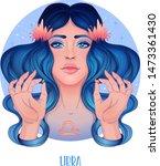 illustration of libra... | Shutterstock .eps vector #1473361430
